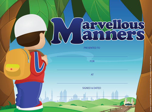 Marvellous Manners (25 Pack A4)