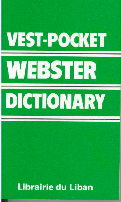 Vest-Pocket Webster Dictionary English-English