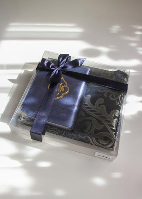 Qur'an in Gift Box with Prayer Mat & Thikr Bead