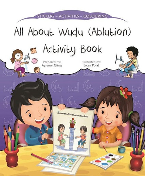 All About Wudu - Ablution Activity Book