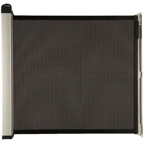 Black KiddyGuard Avant Retractable Baby Gate