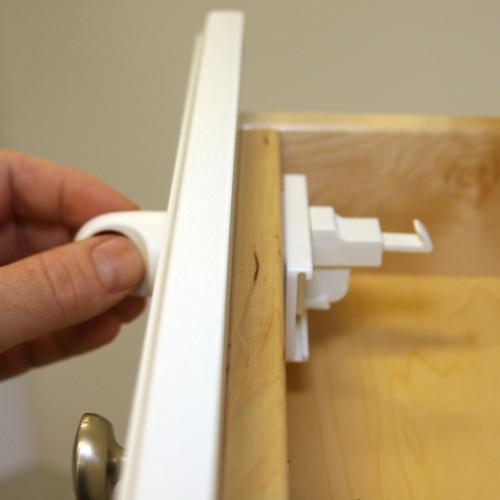 Adhesive Magnet Lock