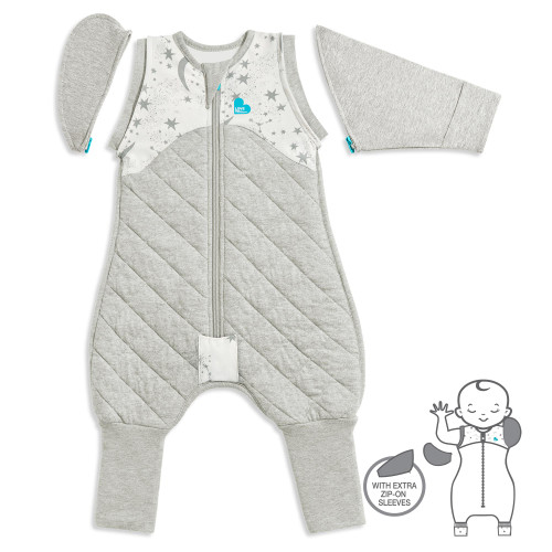 LOVE TO DREAM™ SWADDLE UP™ Transition Suit 2.5 TOG White