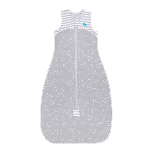 LOVE TO DREAM™ Sleep Bag 0.2 TOG Gray Dots