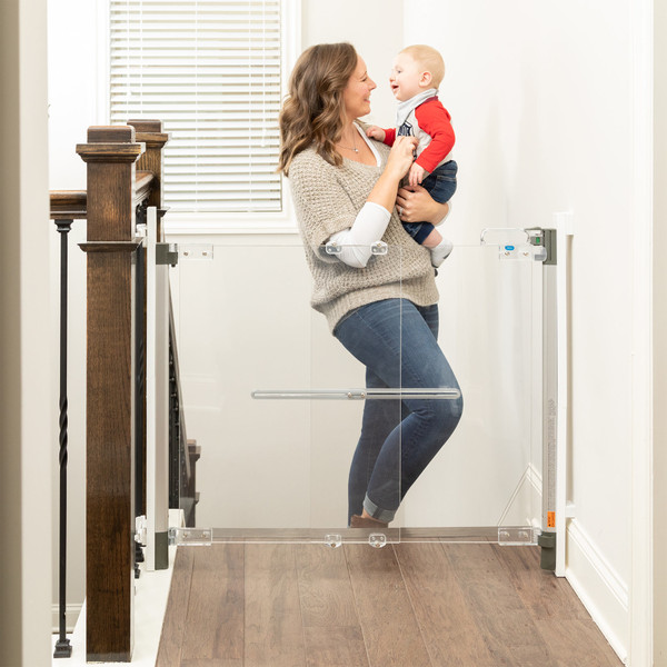 Crystal® Designer Baby Gate, Hardware Mount