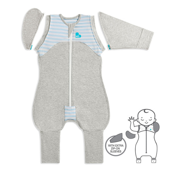 LOVE TO DREAM™ SWADDLE UP™ Transition Suit 1.0 TOG Blue