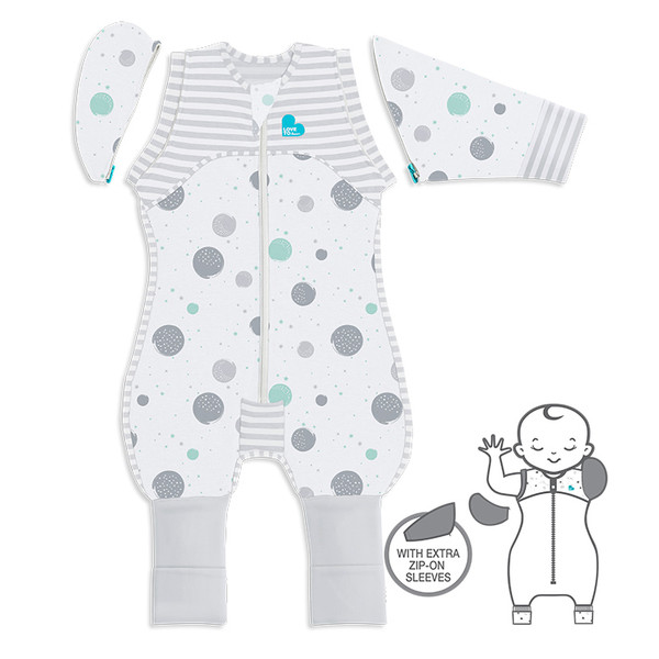 LOVE TO DREAM™ SWADDLE UP™ Transition Suit 0.2 TOG White
