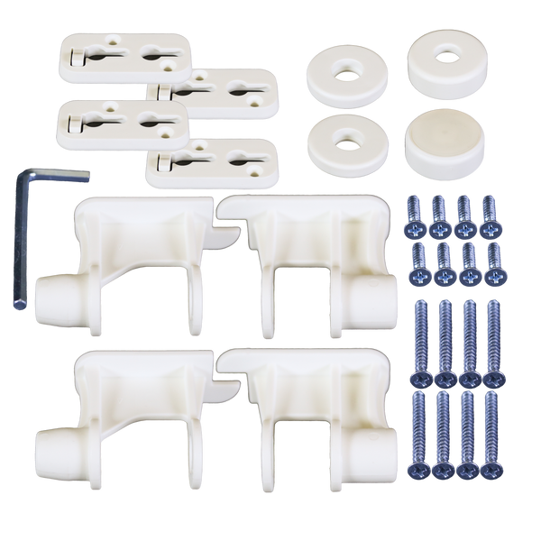 White Complete Hardware Pack