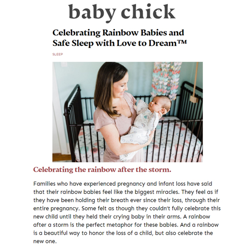 Swaddle Up Rainbow in Baby Chick