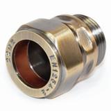 A-ADP-506-22-AB - 506 Compression Adaptor 22mm Antique Brass
