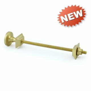 502 Cast Iron Radiator Wall Tie 265mm - Brushed Brass