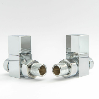 014 Modern Manual Straight Chrome Radiator Valves