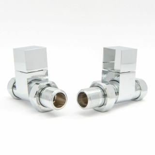 012 Modern Manual Straight Chrome Radiator Valves