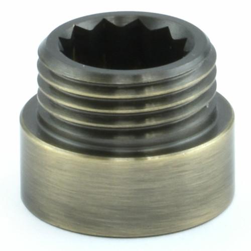 503 Rigid Radiator Extension Pipe 10mm long - Antique Brass