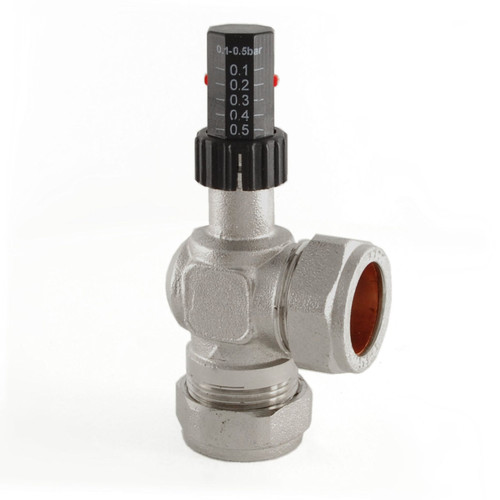 A-ABV-504-22-N - 504 Central Heating Automatic Bypass Valve 22mm