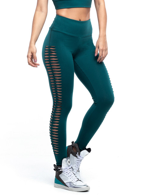 LEGGING FUSÔ POWER BRAID VERDE GALAPAGOS
