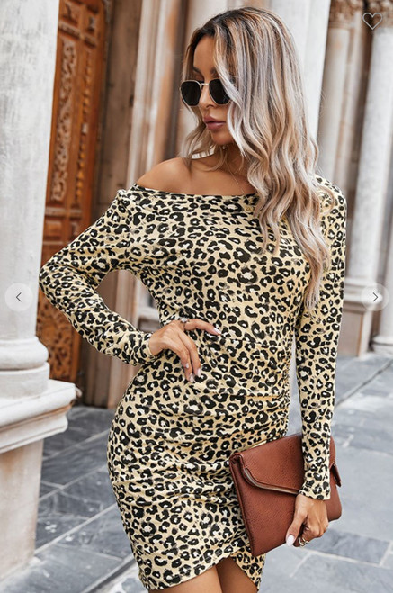 The Lucy Leopard Dress