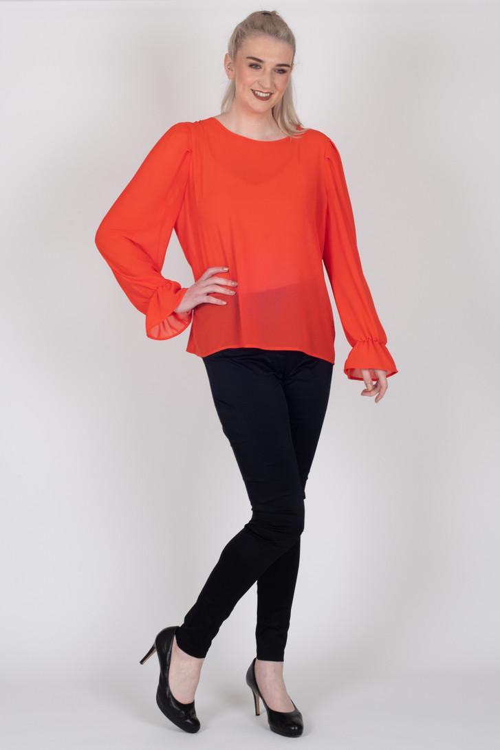 Amelia Top Orange