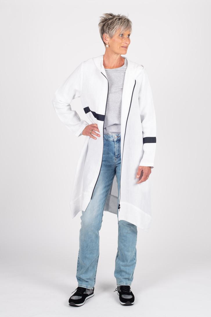 Linen Coat White