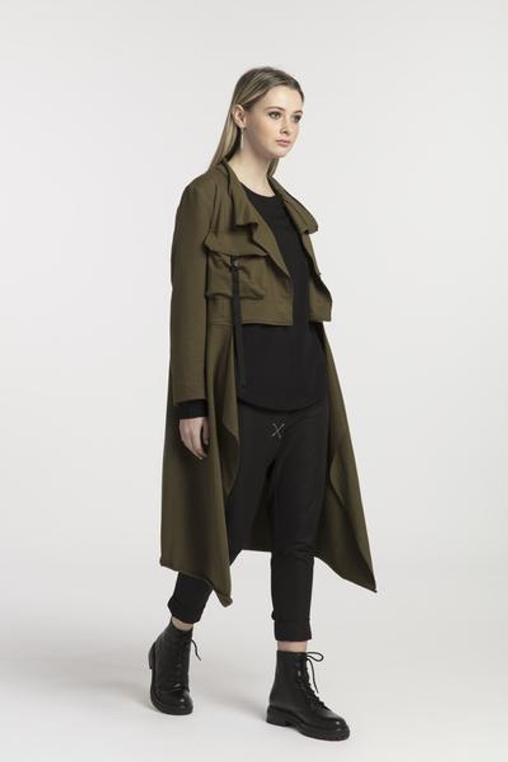New Page Coat Olive