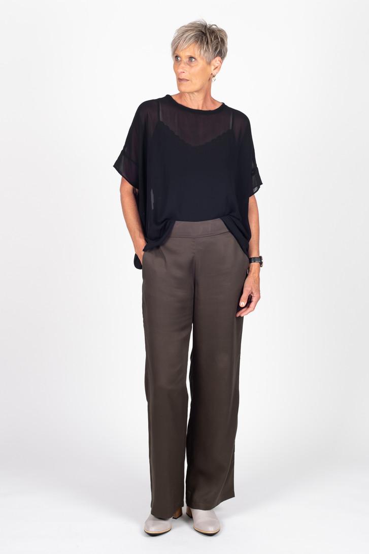 Celine Pants Khaki for tall women.