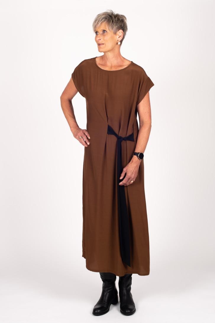 Jacqueline Dress Cinnamon for tall women
