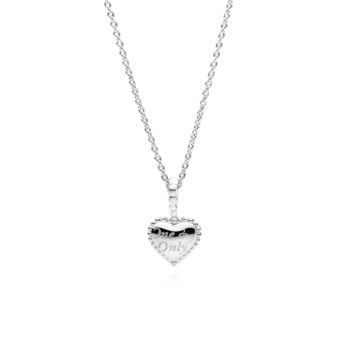 Small One & Only Necklace - 925 Sterling Silver