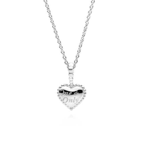 Large One & Only Necklace - 925 Sterling Silver