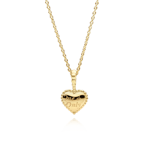 Medium One & Only Necklace - 18K Yellow Gold