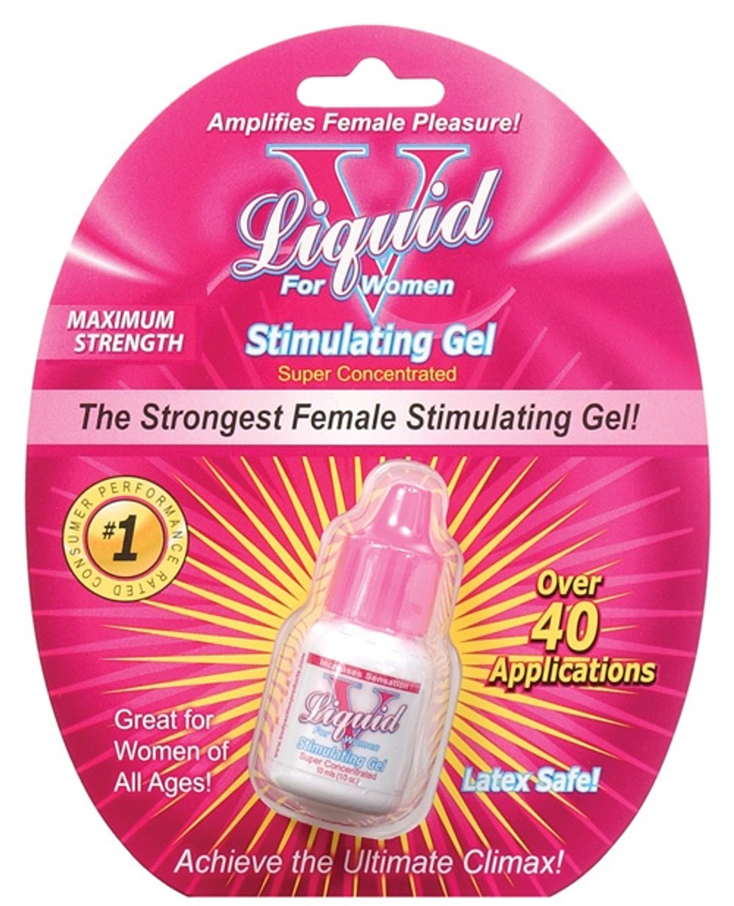 Body Action Liquid V for Women is a maximum strength topical gel that amplifies sexual pleasure for women immediately on contact.