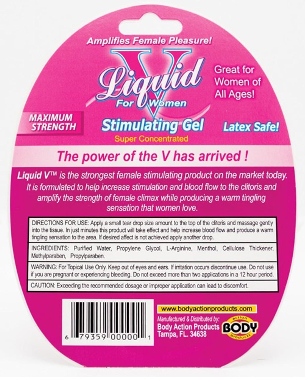 Liquid V Female Stimulant