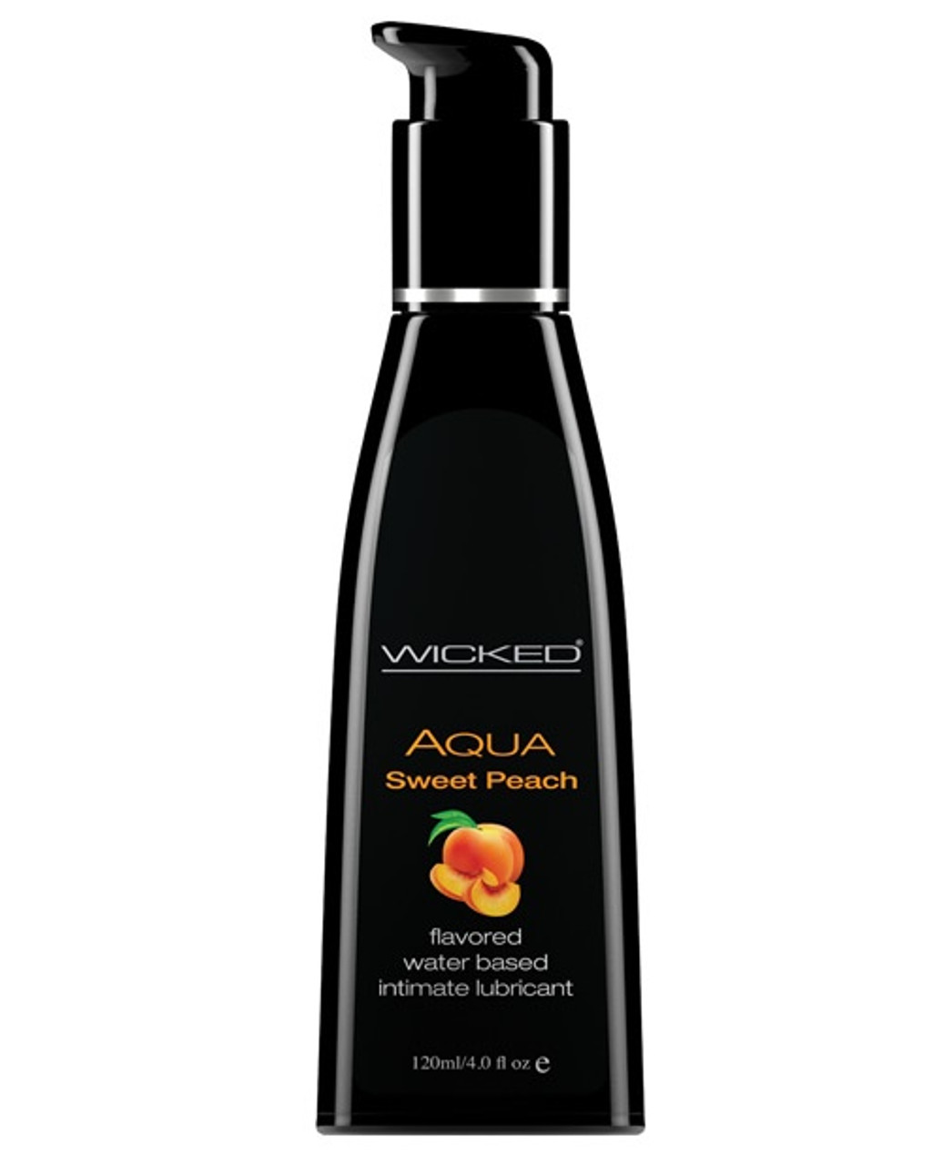 Kissable, Lickable and Delicious! AQUA Sweet Peachadds subtle natural flavors to enhance oral pleasures.