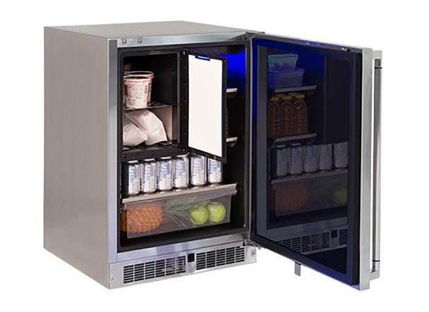 "Lynx 24"" Refrigerator Freezer Combo, Right"