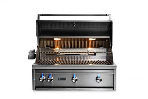 "Lynx 36"" Built in All TRIDENT Grill w/ Flametrak and Rotisserie"