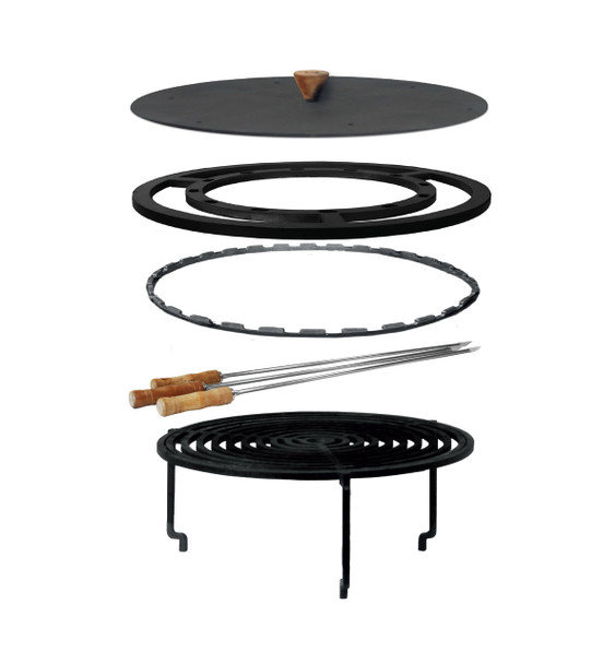 OFYR XL GRILL GRATE & SKEWER ACCESSORIES SET