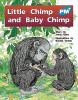 PM Plus Blue Little Chimp and Baby Chimp Lvl 10