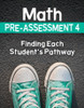 Math Pre-Assessment Complete Series Sets Grade 4