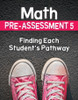 Math Pre-Assessment Complete Series Sets Grade 5