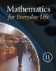 Mathematics for Everyday Life - Grade 11