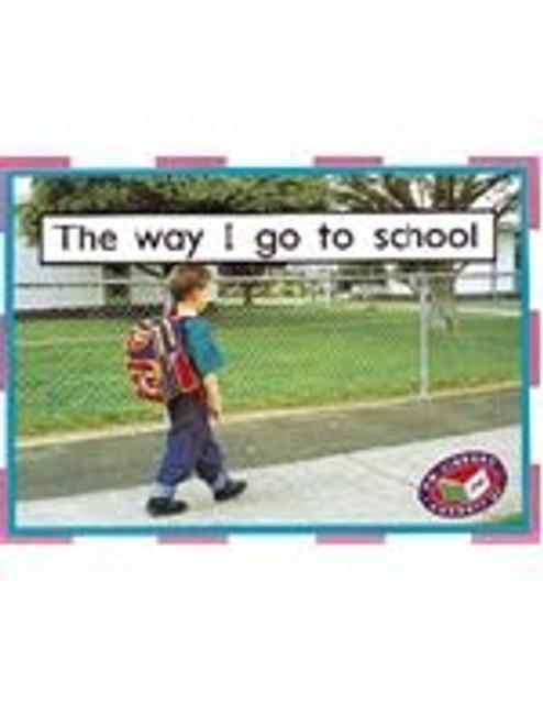 PM Library Magenta The way I go to school Lvl 1