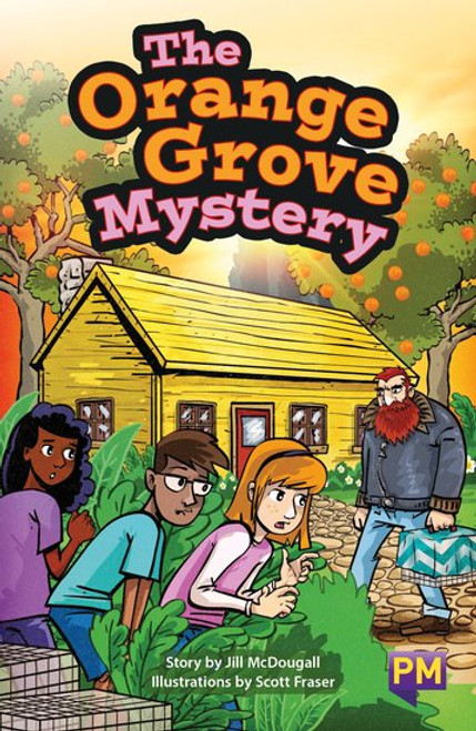 New! Pm Library Ruby The Orange Grove Mystery - Level 27 (R) Single Copy