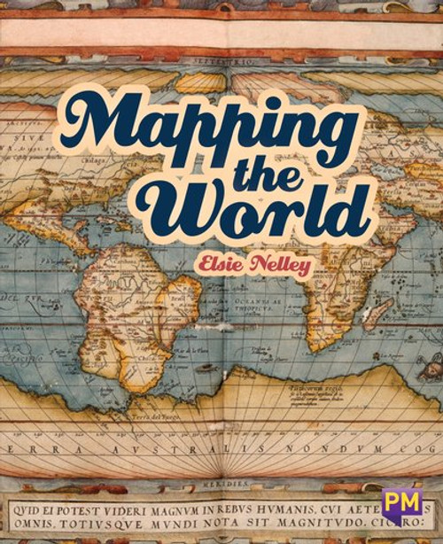 New! Pm Library Sapphire Mapping The World - Level 29 (T) Single Copy