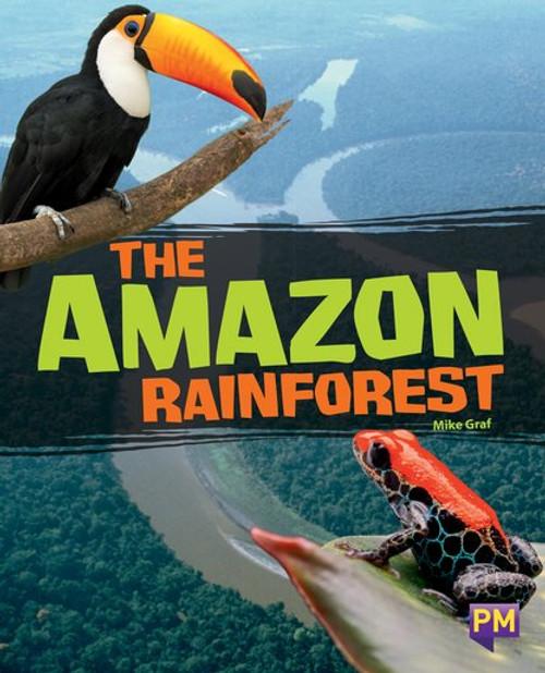 New! Pm Library Sapphire The Amazon Rainforest - Level 29 (T) Single Copy