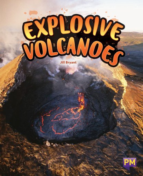 New! Pm Library Sapphire Explosive Volcanoes - Level 30 (U) Single Copy