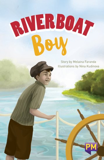 New! Pm Library Sapphire Riverboat Boy - Level 30 (U) Single Copy