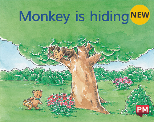 PM Library Magenta Monkey Is Hiding 2-3 (B-C) 6-Pack