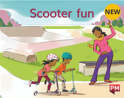 PM Library Magenta Scooter Fun! 2-3 (B-C) 6-Pack