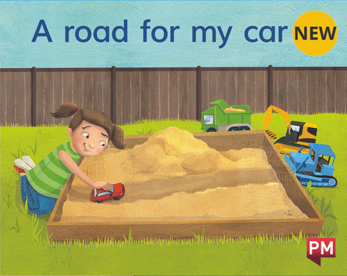 PM Library Magenta A Road For My Little Car 2-3 (B-C) 6-Pack