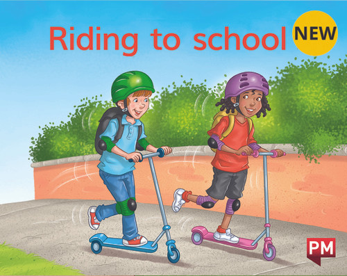 PM Library Magenta Riding To School 2-3 (B-C) 6-Pack