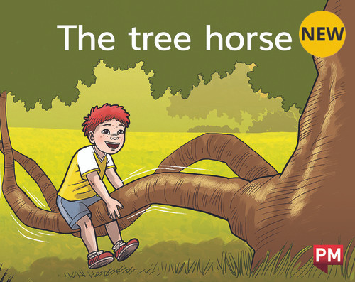 PM Library Magenta My Tree Horse 2-3 (B-C) 6-Pack